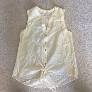NEW Anthropologie Maeve Striped Tank Top